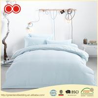 Wholesale 100% Natural Cotton Fabric Hypoallergenic Hotel Bedding Duvet Cover Set Supplier