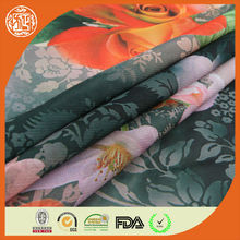 75D Polyester chiffon fabrric / fabric material for making dresses / composition of chiffon