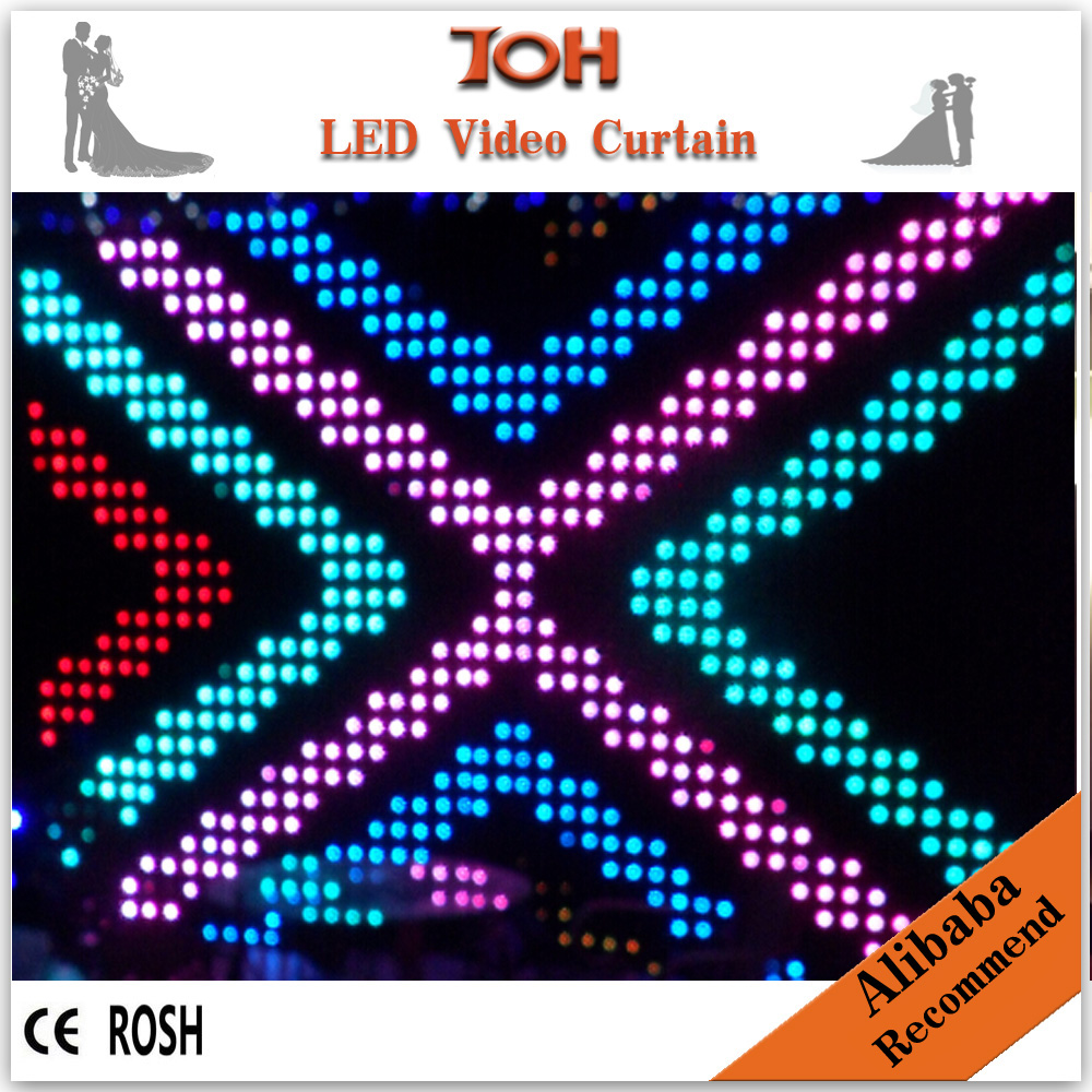 Led curtain concert -  Strong Led Strong Color Changing Strong Curtain