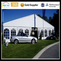 clear party banquet event advertising marquee wedding tent drapes