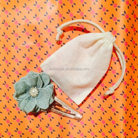 superior gift&jewellery cotton voile bag