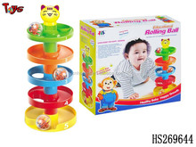 2015 best selling intelligent plastic rattle baby bell