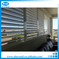 European standard decorative interior aluminum shutters window