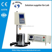 high temperature lab digital rotating brookfield viscometer