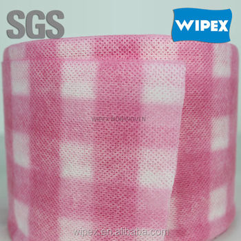 Most absorbent spunlace cleanroom wipers for household cleaning