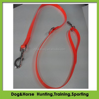 Day-Glo Tree Tie Dog Leads made from TPU coated nylon webbing