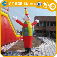 New Design Inflatable Clown Air Dancer, Clown Sky Dancer, advertising air dancer for sale