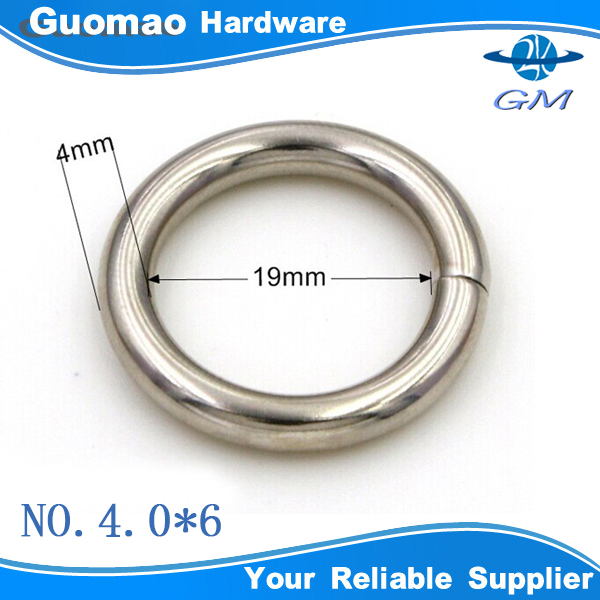 4mm thickness 20mm inner size iron split o ring