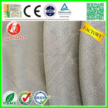 Hot sale breathable organic bamboo fleece fabric factory