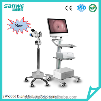 SW-3306 Trolley Type Optical Colposcope, Vaginal Colposcope, Colposcope with Microscope