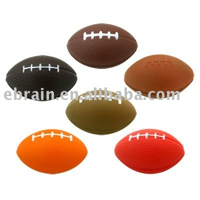 PU Rugby Stress Ball, Rugby squeeze ball, antistress football