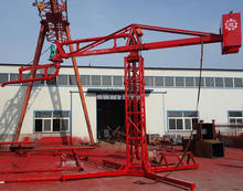 Slewing bearing type 315 Electric Stationary Concrete Placing Boom remote control for concrete pump