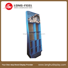 OEM design Christmas mobile phone store and cell phone accessory display rack