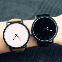 Free shipping popular korea style sport wrist watch for lovers