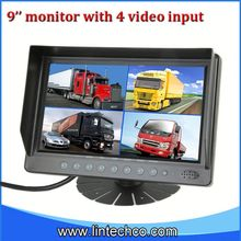 2013 Lowest price Chinese factoy 9 inch car headrests tft monitors for truck