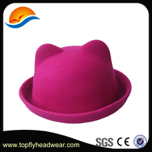 Dongguan Hat Maker, Lovely And Cute Wool Cat Ear Hat