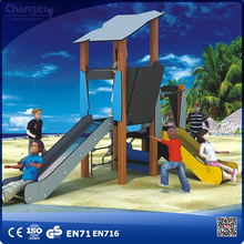 Residential steel pipe used outdoor playground equipment kids climbing playground