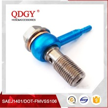 high quality hydraulic fittings used for automobile brake hoses