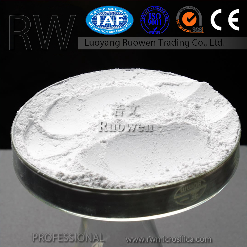 China producer high SiO2 content fine densified white micro silica fume factory price cheap
