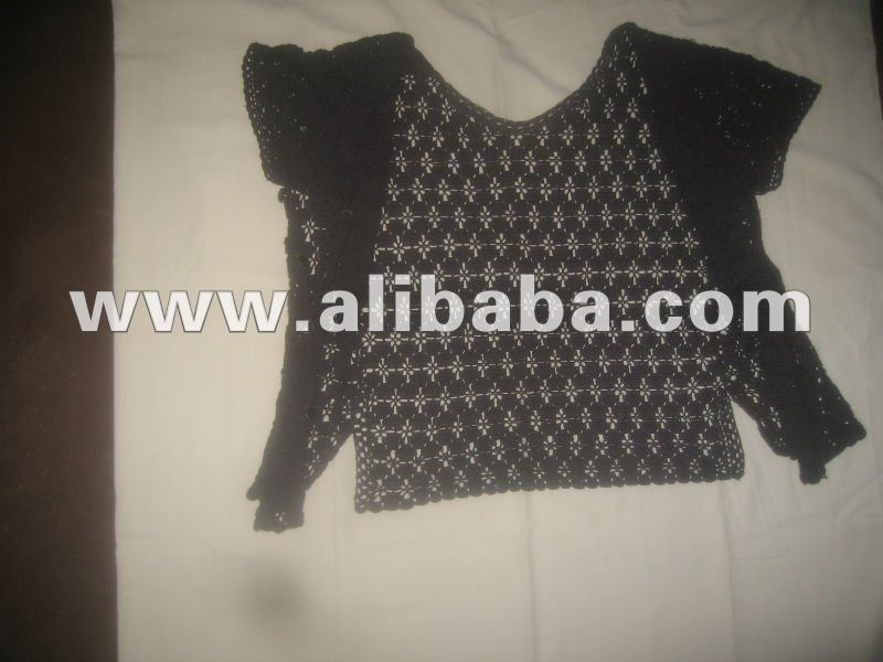 Hand Made Lace Blouses/T-Shirts