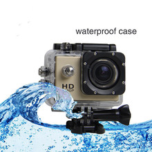 HD 1080P 1.5 inch LCD Helmet Camera Underwater 30M Action Camera SJ4000 Without WIFI Mini Sport Camera DV