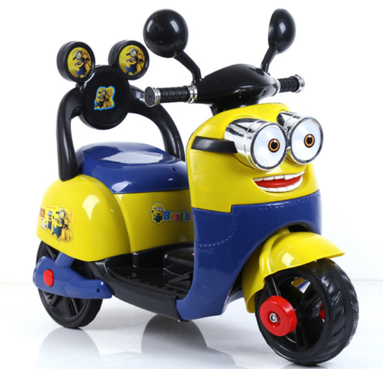 3 Wheels mini kids electric motorcycle plastic car toy battery baby motorbike