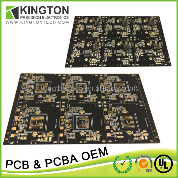 Hot selling impedance control variable voltage plc pcb