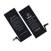 2016 new product! 1800mah mobile phone battery 3.7v gb/t18287-200 for Iphone 6