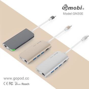 Unlock The Full Potential of your Mac - Gmobi USB Type C Power Convertor with Ethernet Gigalan Port