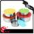 5pcs stainless steel mixing box set/ round food container/ food storage