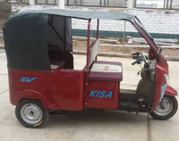 electric driving type battery operated electric rickshaw for india