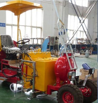 Multi-function thermoplastic road line marking machine