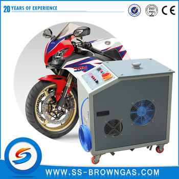 Largest company CCM300 car engine carbon cleaning machine / HHO generator decarbonizer for car motorcycle