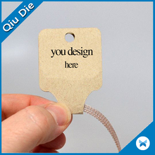 Paper & Paperboard Product Material and Offset Printing Type custom printed jewelry hang tags