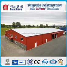 Low Cost Prefabricated Steel Structure Warehouse Workshop Factory House Building