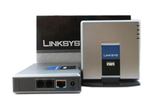 Unlocked Linksys PAP2T/ SIP ATA VOIP phone adapter With New price