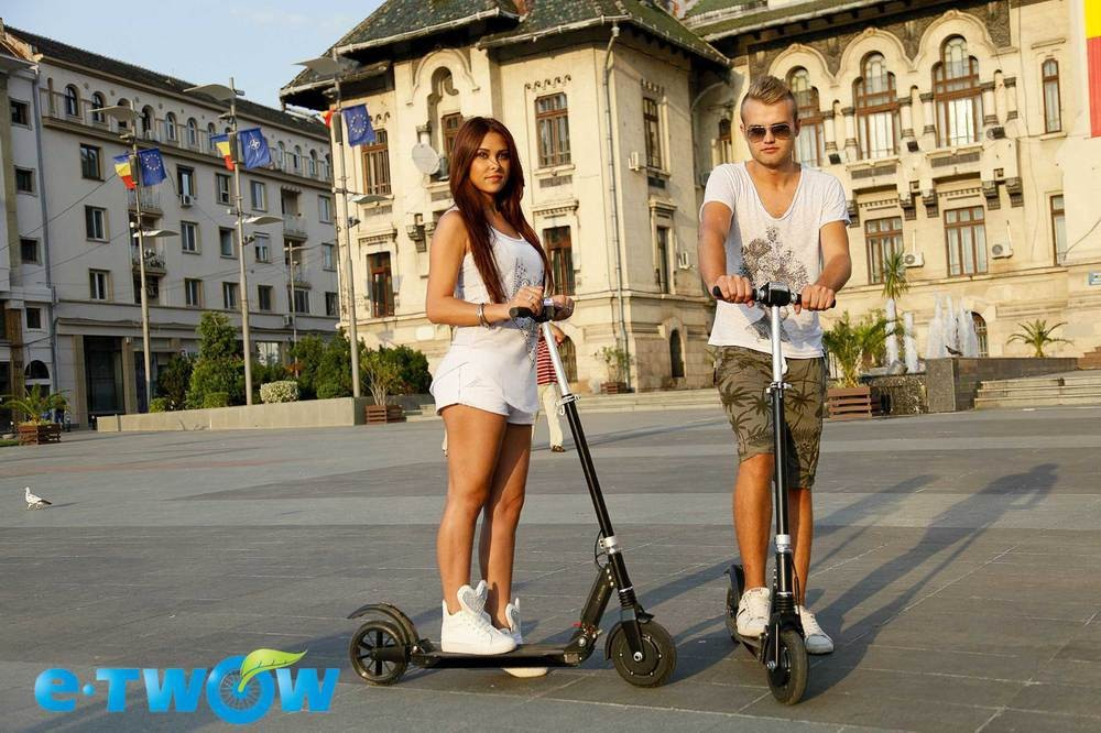E-TWOW personal transport electric vehicle
