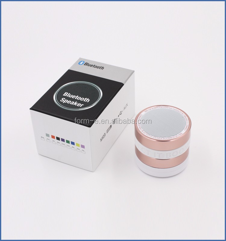metal mini bluetooth microphone speaker combo terminal nby-005