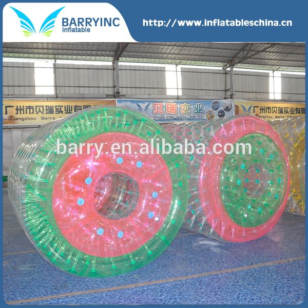 China factory roll inside inflatable ball , inflatable water roller