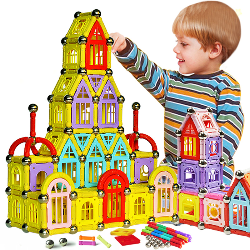 2016 hot sale new design activities Magnetic Building Block Toys for child