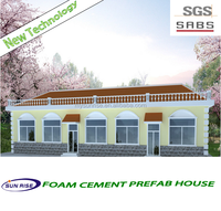 Flexible design modern style 3d house plans prefab modular guest house