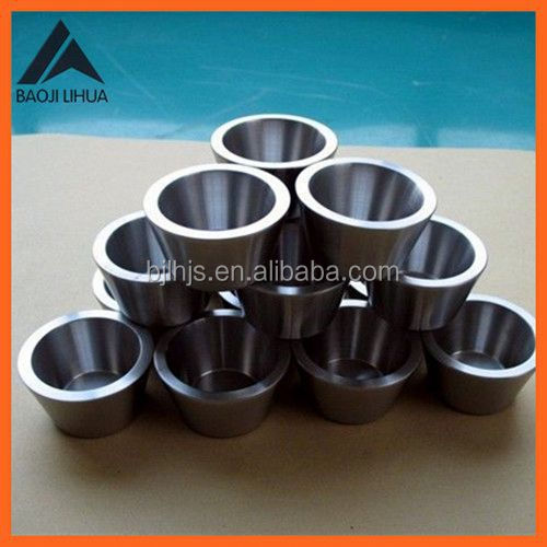 Hot sale best sell induction melting molybdenum crucible