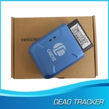 Hot-selling obd ii gps gprs gsm car tracker with Cumulative Mileage Function and monitor fuel tank volume function