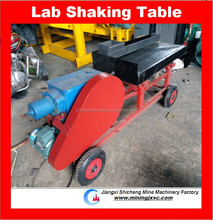 new shaker table for mineral testing