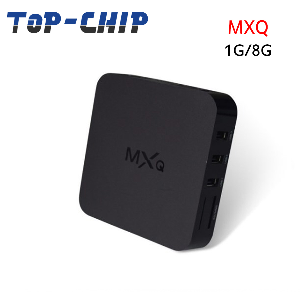 MXQ NEXT Android 4.4 TV Box 1G 8G H.265 Quad Core Amlogic S805 Media Player