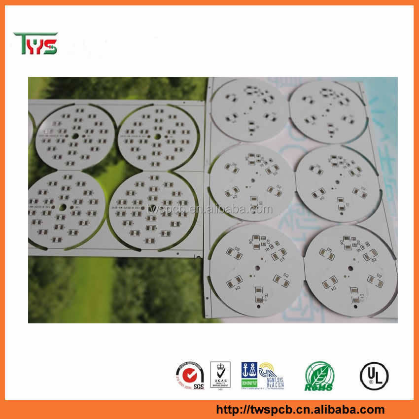 Manufacturing price high power 360 degree light led pcb