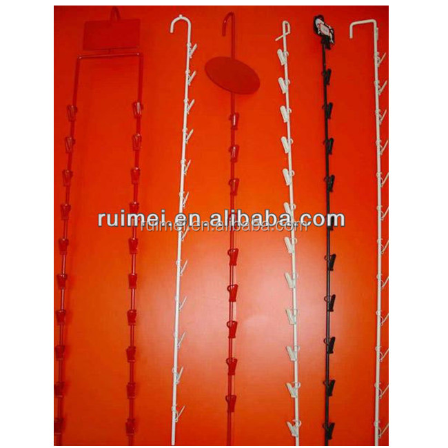 Metallic Clip Strips Metal Clip Strips Metal Hang Strips Metal Display Hooks