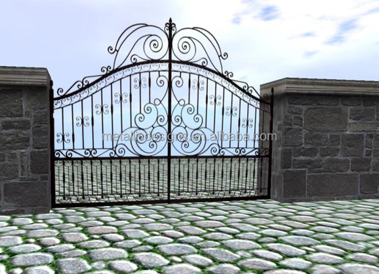 Venta al por mayor portones de hierro forjado para casas for Modelos de portones en hierro forjado