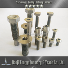 Titanium screw size M6