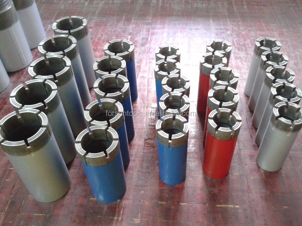 T6-76, B76, T2-76 double/single tube drilling coring bits